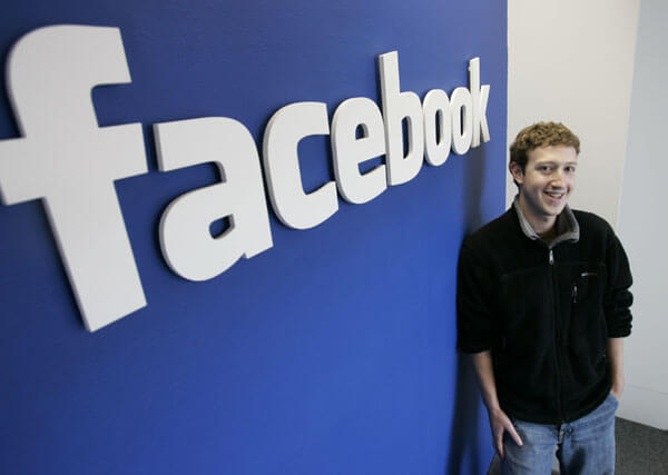 Mark Zuckerberg Chief Executive Officer of Facebook