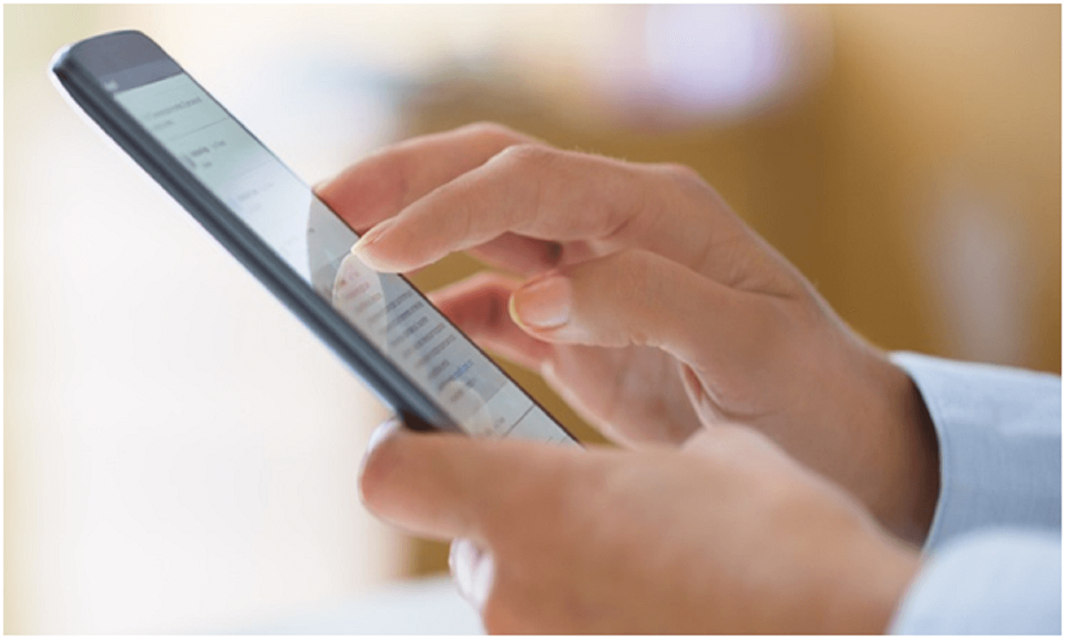 Woman using mobile phone, text message SMS