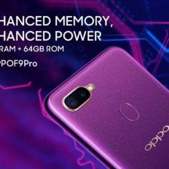.Oppo F9 Pro - Advanced Memory - Advanced Power - 6GB RAM