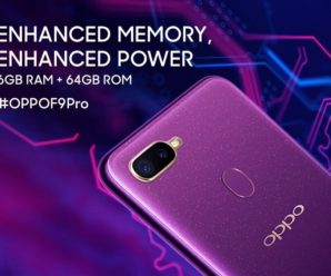 .Oppo F9 Pro - Advanced Memory - Advanced Power - 6GB RAM