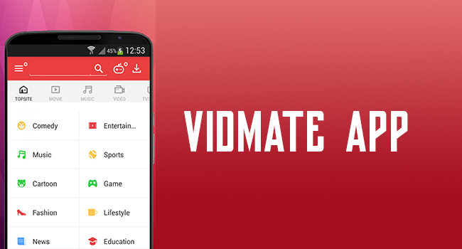 Vidmate App - Video Downloader App - Best App to Download YouTube Videos for Free