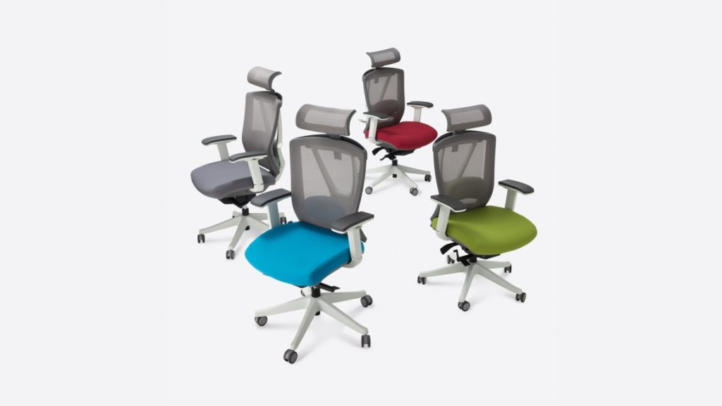 The Autonomous Ergochair 2 - THE BEST desk chair provides plenty of support to help prevent back pain with your scoliosis.