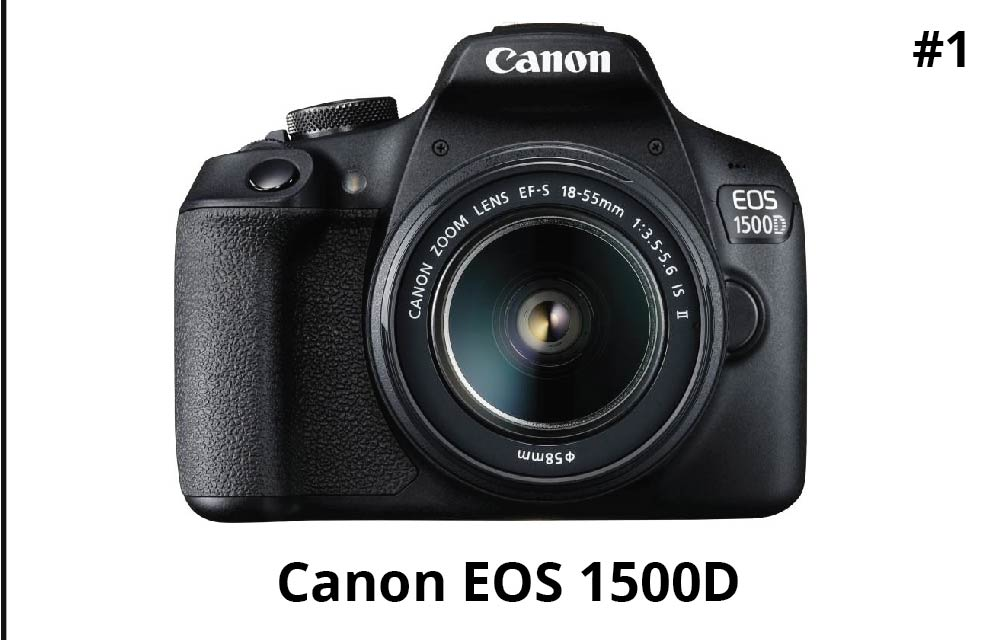 Canon EOS 1500D 24.1MP DSLR Camera