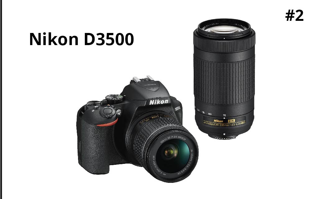 Nikon D3500 DSLR Camera with 18-55mm Lens Kit