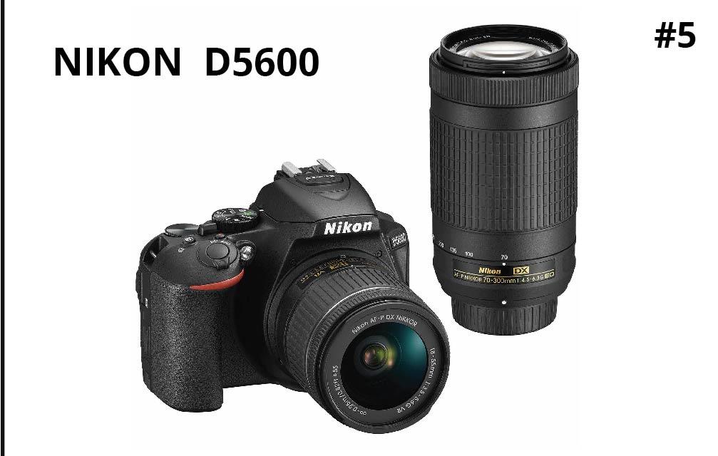 Nikon D5600 Digital SLR Camera