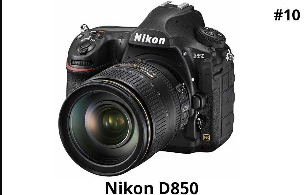 Nikon D850 DSLR Camera with 24-120mm VR Lens