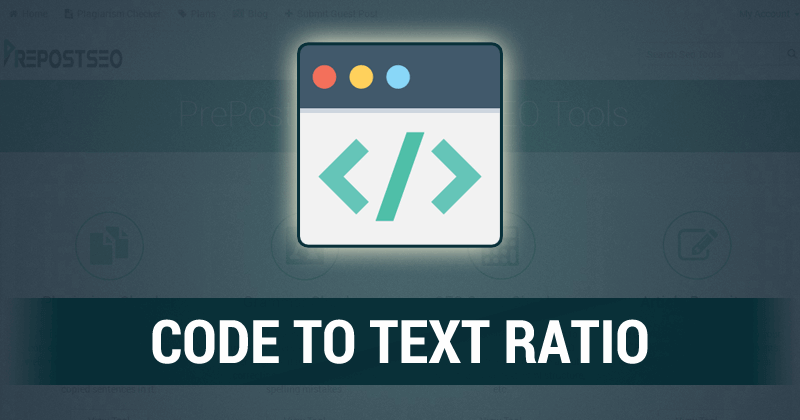 Code to Text Ratio