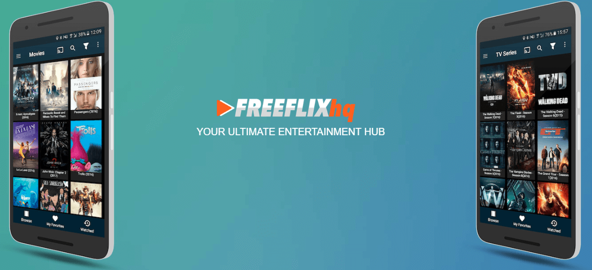 FreeFlix HQ App : Your Ultimate Entertainment Hub. Enjoy unlimited 1080p Movies and TV Shows on all of your devices