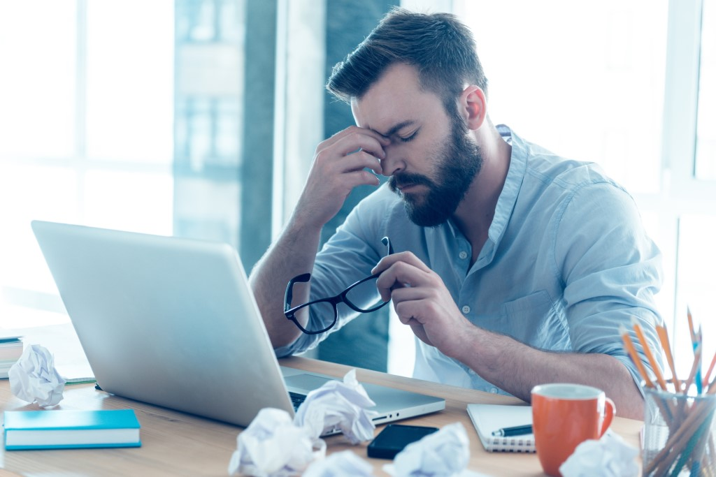 Chronic stress and Lack of Productivity. Signs You Are Getting Burnt Out at Work