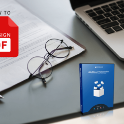 New Able2Extract Professional 14: How to Sign PDF Documents