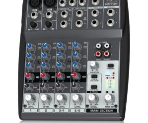 The Best Podcast Mixer - Behringer Xenyx 802 Mixer For Podcasting
