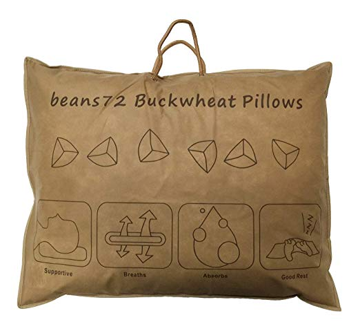 Buckwheat Pillow can help you sleep better with scoliosis