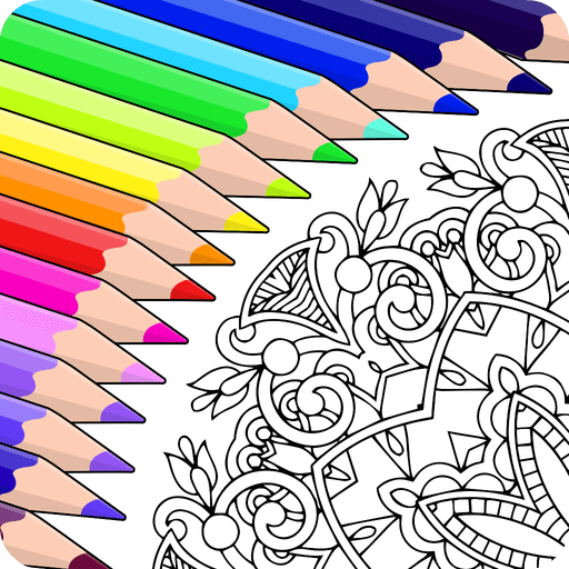 Colorfy: Coloring Book for Adults - Free – Apps on Google Play cover image