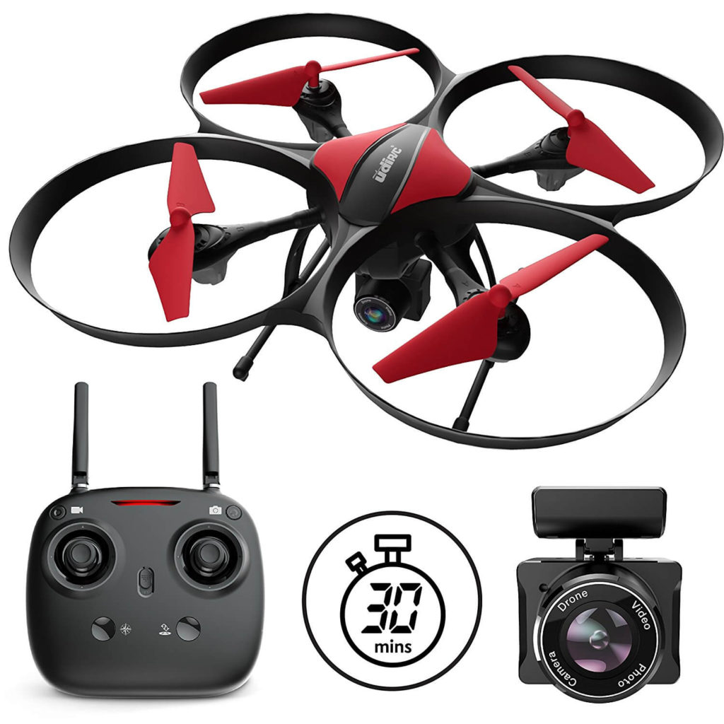 Force1 Camera Drones  - U49C Red Heron Camera Drone
