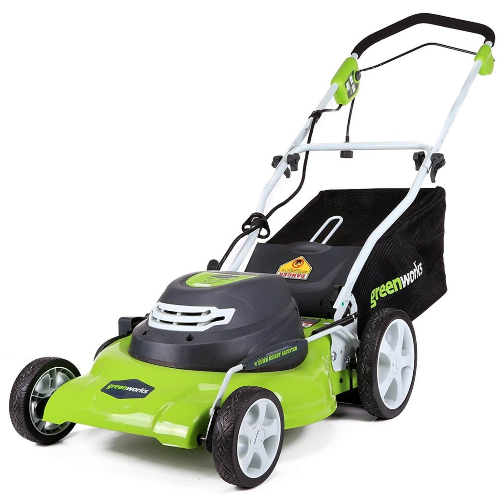Greenworks 20-Inch 12 Amp Corded Lawn Mower [Amazon's Choice]