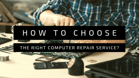 How to Choose the Right Computer Repair Service?