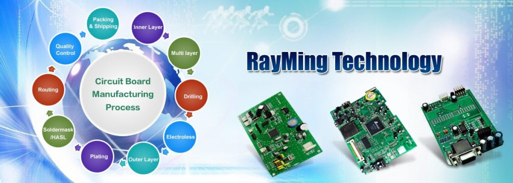 Printed Circuit Board Manufacturing & PCB Assembly - RayMing Technology.