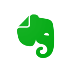 Evernote app cover art image