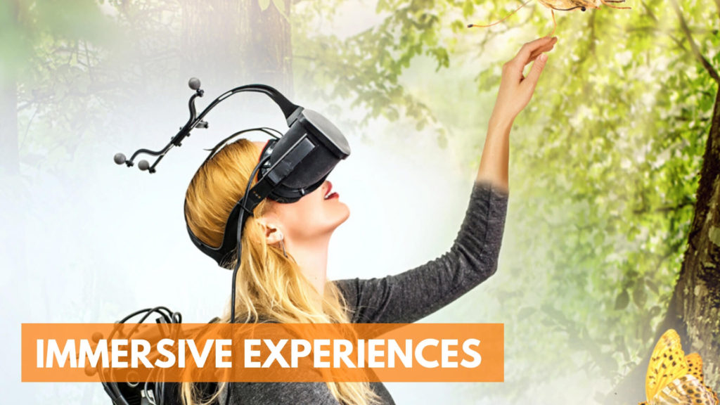 Top Technology Trends of 2019: Immersive Experience
