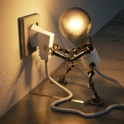 light bulb - electricity - electrical technology - power outlet - powering our devices