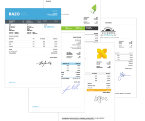 Professional Invoices Templates for Small Businesses