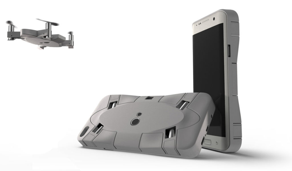SELFLY - The Smart Flying Phone Case Camera