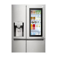 LG Glass Door Refrigerator. Knock Twice, See Inside, 668 Litres InstaView Door-in-Door Refrigerator.