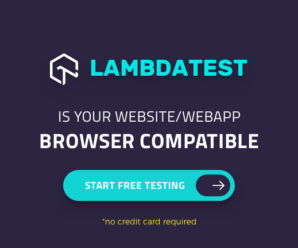LambdaTest - Website or Web App Browser Compatibility Testing Tool
