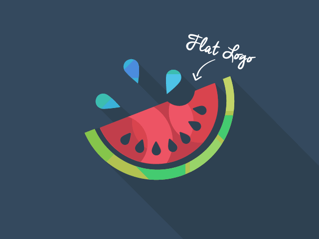 Logo Design Trends 2019 Image 3: Semi Flat Logos