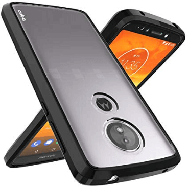 OUBA Clear TPU Protective Case for the Moto E5 Smartphone.