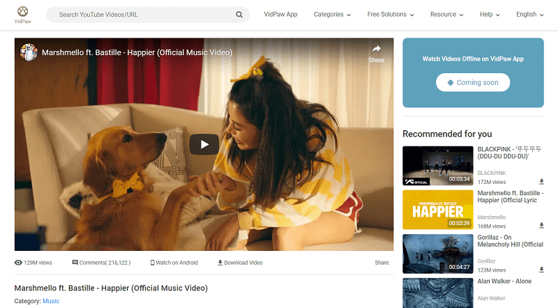 Watch Online Videos on VidPaw