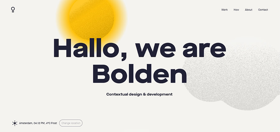 Bolden – Contextual design & development. Branding, IA, UX/UI, visual design, graphic design, front-end, back-end development.