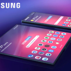 Samsung Galaxy F Foldable Smartphone