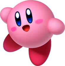 Kirby (character) pink alien hero