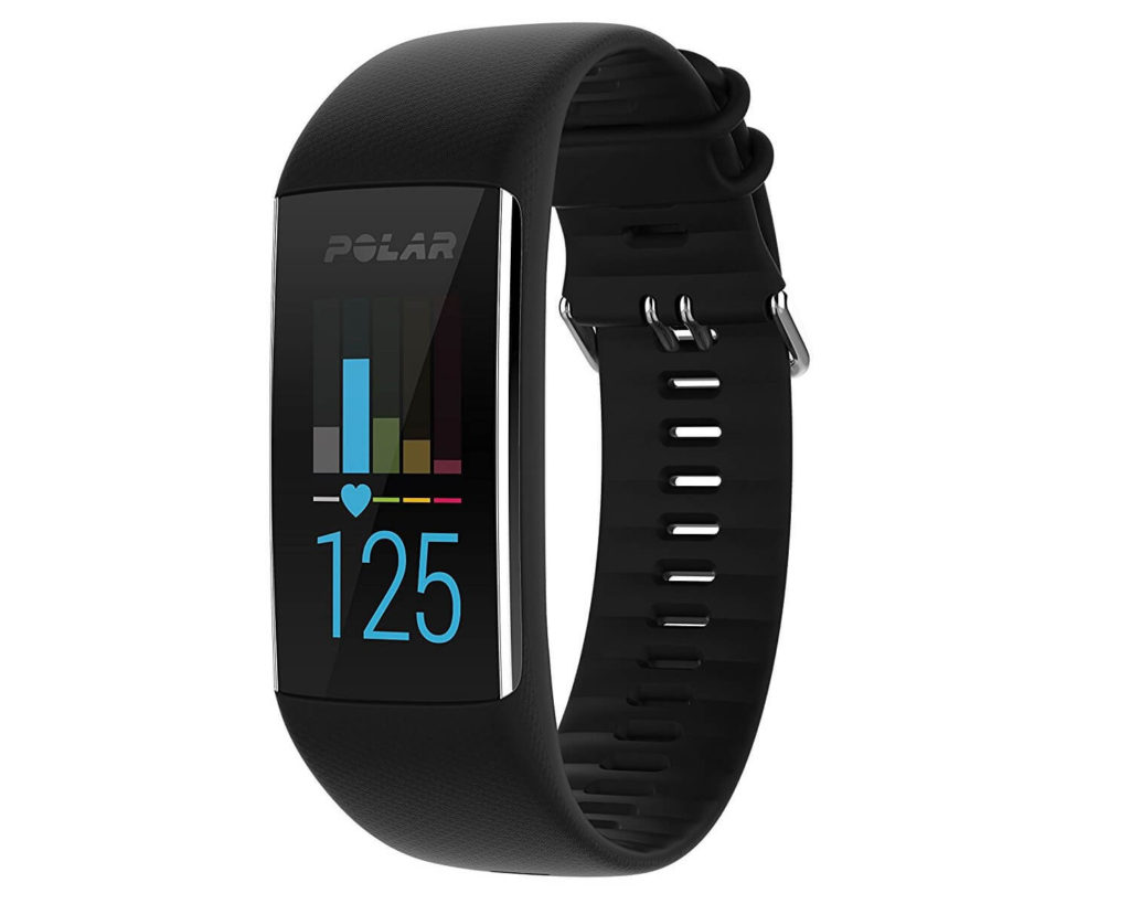 Polar A370 Fitness Tracker with 24/7  Wrist-Based Heart Rate Monitor. It's a fitness tracker, continuous heart rate monitor, calorie counter and sleep tracker.