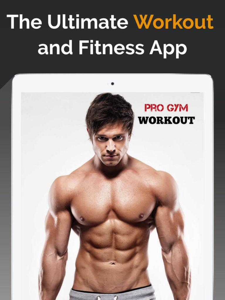 Pro Gym Workout - The Ultimate Workout and Fitness App - Gym Workouts and Fitness App - Pro Gym Workout Trainer - Workout Tracker App - Gym Trainer App