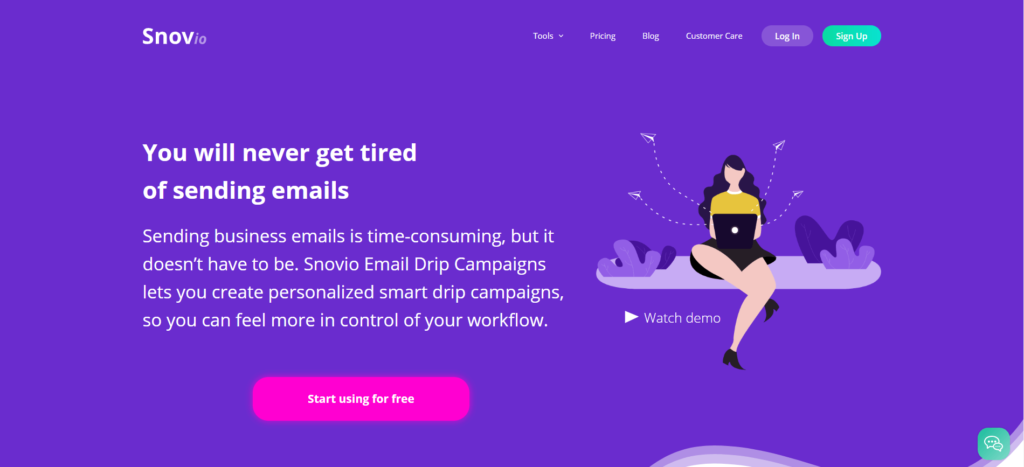 Snovio Email Drip Campaigns. Email Marketing with Snovio.