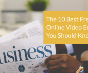 The 10 Best Free Online Video Editors