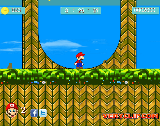 Mario Bros in Sonic World Game - Play Online