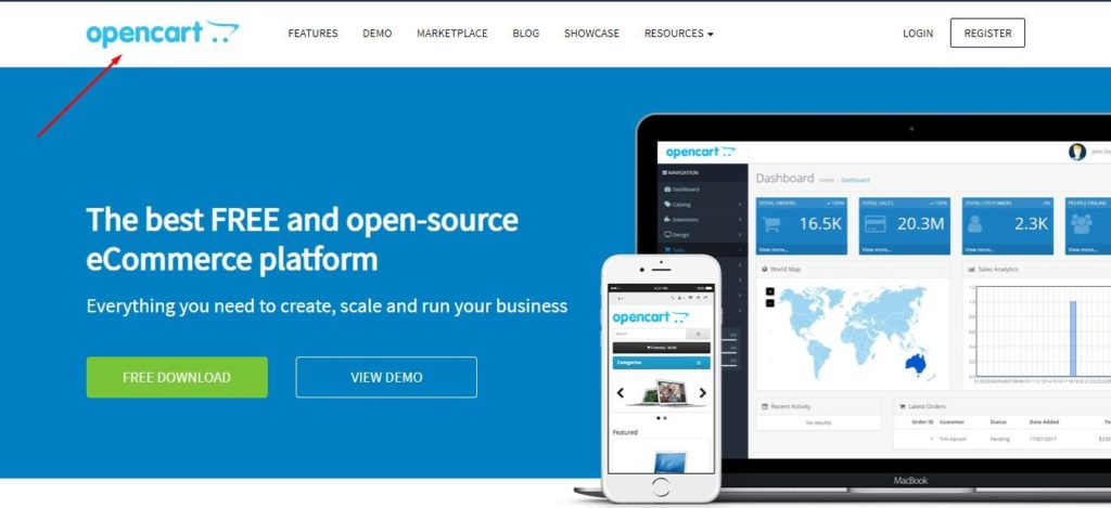 OpenCart - The best FREE and open-source eCommerce platform. Everything you need to create, scale and run your business.
