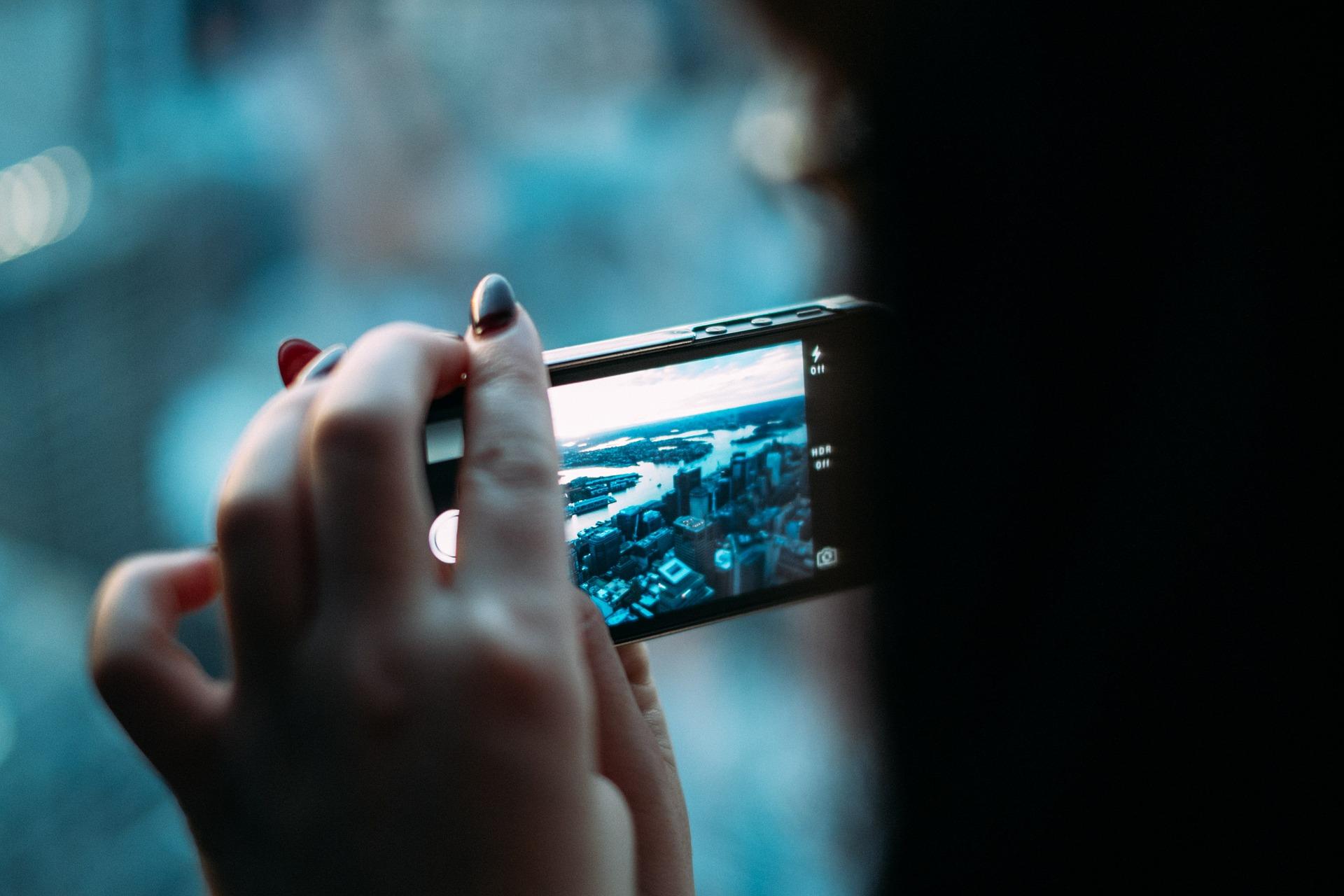 Smartphone's Blue Light. Your Smartphone Screen Emits Blue Light.