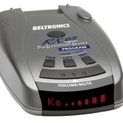K-Band Radar Detector - Beltronics RX65-Red Professional Series Radar Detector