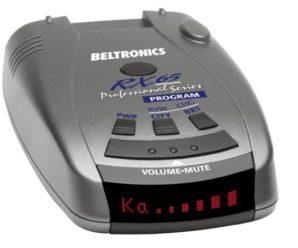 K-Band Radar Detector - Beltronics RX65-Red Professional Series Radar Detector