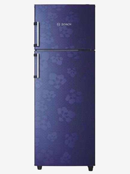 Bosch 347 L 3 Star Frost Free Double Door Refrigerator (Mid Night Blue) | Bosch Electronics