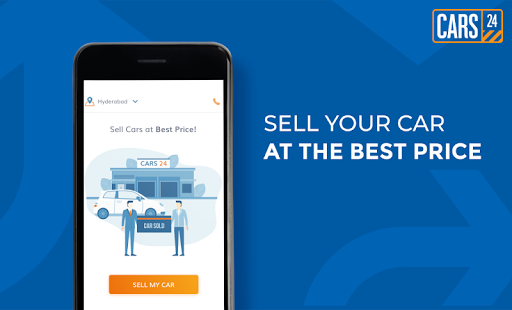 CARS24 App – Sell Used Car at Best Price & Get Paid Instantly. Sell Your Car at the Best Price. Sell Cars at Best Price!