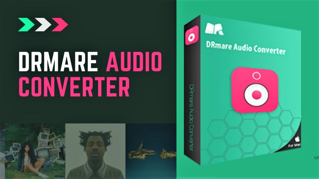 DRmare Audio Converter for Mac - All-in-One DRM Removal Tool for Apple Music, iTunes, and Audible Audiobooks.