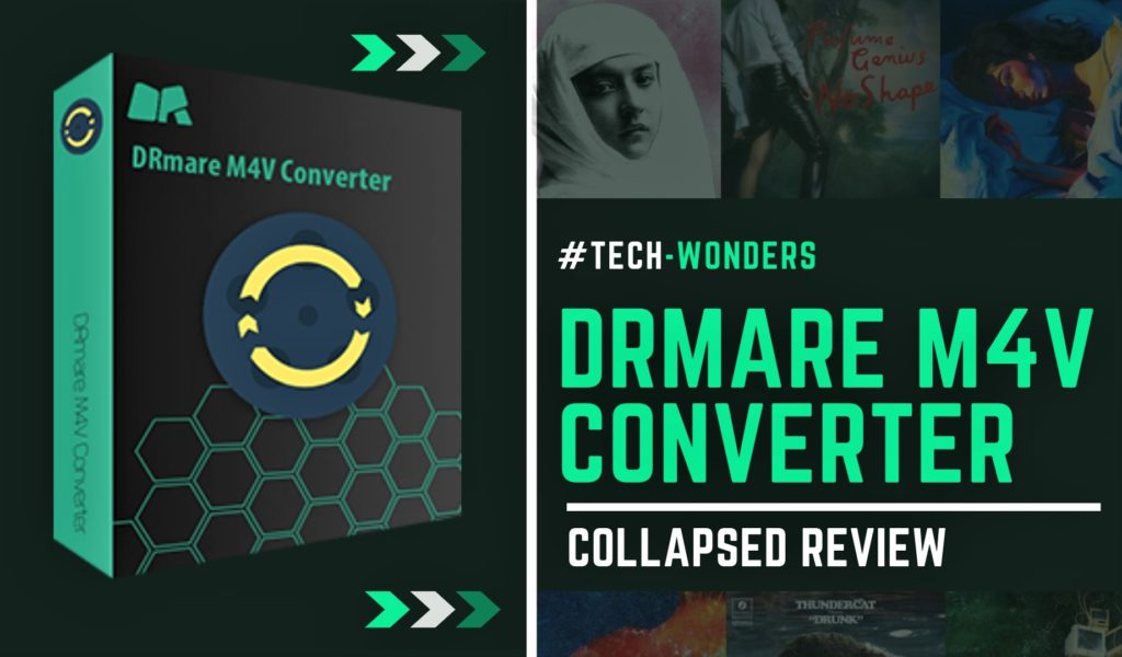 DRmare M4V Converter for Mac - Collapsed Review