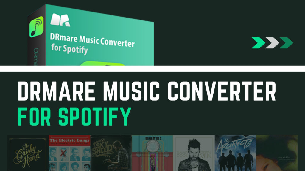 DRmare Music Converter for Spotify or DRmare Spotify Music Converter - Download and Convert Spotify Music to MP3.