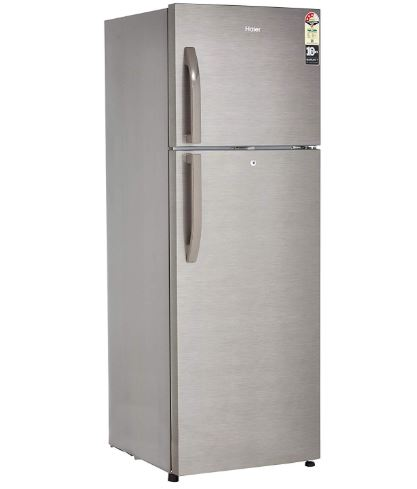 Haier 347 L 3 Star Frost-Free Double-Door Refrigerator (HRF-3674BS-E, Brushline Silver and Dazzel Steel) | Haier Electronics