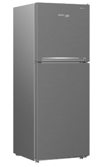 Voltas Beko 270 L Inverter 3 Star Frost Free Double Door Silver Refrigerator with StoreFresh | Voltas Beko Electronics
